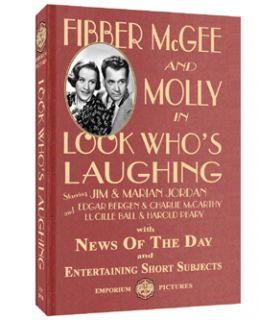 Look Whos Laughing A Fibber McGee Molly Classic on DVD