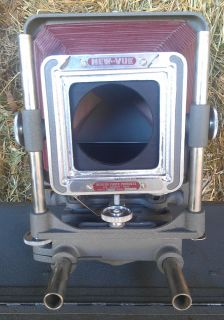 Vintage 4x5 Newton New Vue Model VC3 Large Format Camera Body Only
