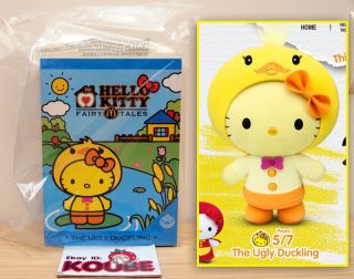 McDonalds x Hello Kitty Fairy Tales Collection Limited Edition The