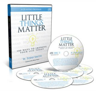 Little Things Matter w Todd Smith Audio Book Success