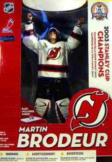 McFarlane Sports Ne w Jersfy Devils Martin Brodeur NHL Hockey 12 Inch