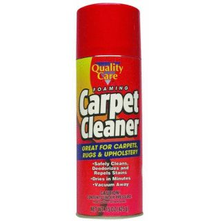 15 oz Quality Care Foaming Carpet Cleaner 7218