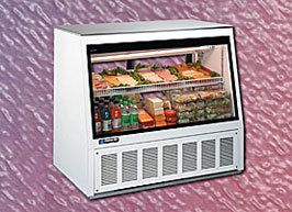 DMS72L New Master Bilt Deli Meat Display Case Merchandiser w 1 YR