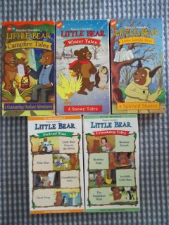 Maurice Sendaks Little Bear Nick Jr VHS 20 Tales Campfire Pretend