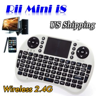 Mini i8 Wireless Keyboard Touchpad Google TV Box Media Control AU Sto