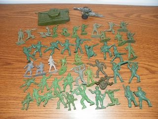 Mixed Lot of Plastic Rubber Soldiers Tim Mee TB Others IB