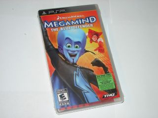 Megamind The Blue Defender Sony PSP New SEALED 752919481660