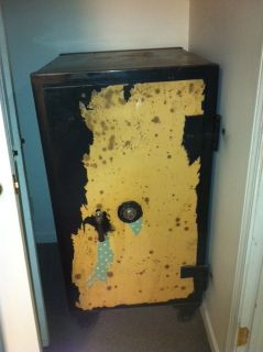Antique Meilink Safe on Wheels