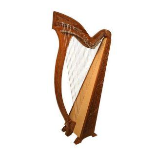 MEGHAN 36 String Rosewood Celtic Irish Folk Harp ~ Celtic Knot or