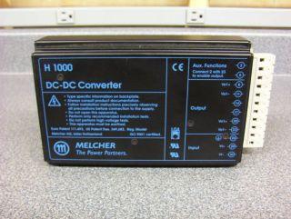 Melcher H1000 DC DC Converer 48H 1501 2R 48V 15V 3 4A