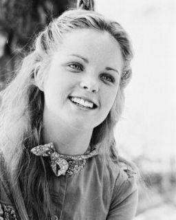Little House on The Prairie Melissa Sue Anderson B W