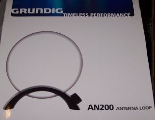 An 200 Tunable Medium Wave Radio Loop Antenna Am Broadcast Band