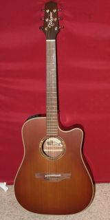 Takamine ETN10CTBS Acoustic Electric Guitar with Hardshell Case, Like