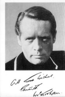 The Prisoner Patrick McGoohan ITC Publicity Card Signed