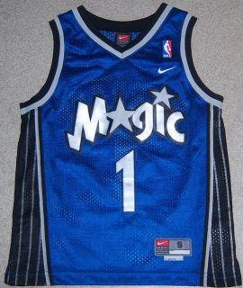 Tracy McGrady Orlando Magic NBA Jersey #1 Nike Youth Small Embroidered