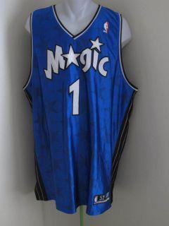 Orlando Magic Tracy McGrady Authentic Sewn Jersey 52 Reebok