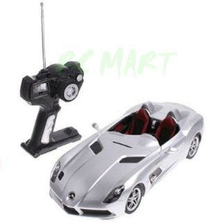 12 MERCEDES BENZ SLR STIRLING MOSS RADIO CONTROLLED RTR RC MODEL CAR