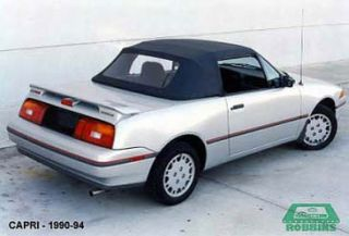 1990 1993 Mercury Capri Convertible Top