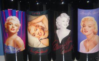Marilyn Monroe Merlot 2004 2005 2006 2007 Wine 4 Bottle New Sealed