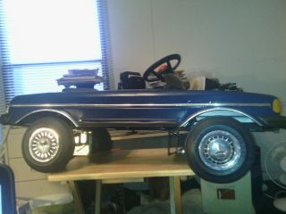 Mercedes Benz Pedal Car 450SL 560 650JS Electrical Battery Operated