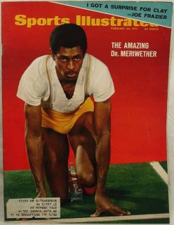 Sports Illustrated Feb 22 1971 Running Dr Meriwether