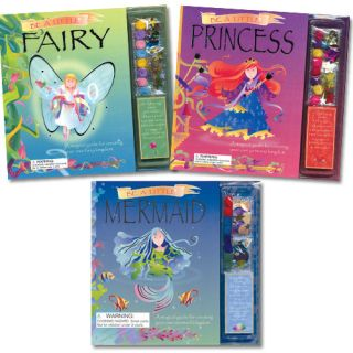 Be A Little Mermaid Fairy Princess Books by Caroline Repchuk 2007