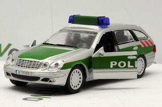 Police Car Mercedes Benz E Klasse 1 43 Die Cast Model PO24