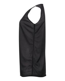 Basketball Reversible Mesh Jerseys Black White Blank Ladies Large ing