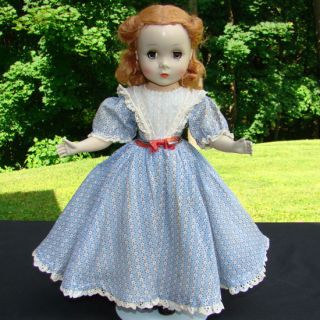 1950 Little Women Beth Doll Madame Alexander 14 Inch Hard Plastic