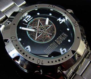 New Dimmu Borgir Black Metal Band Logo Wrist Watch