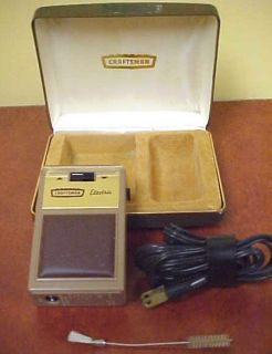 Vintage Craftsman Mens Electric Shaver