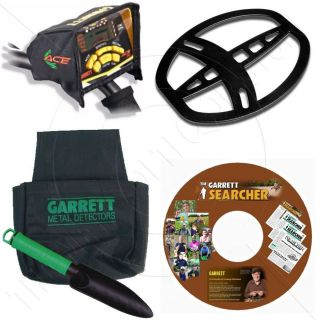 Garrett Ace 350 Metal Detector Accessory Package
