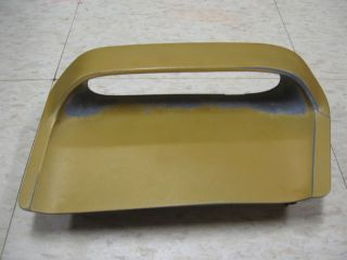 RARE 1972 Mercury Montego GT Original Hood Scoop Insert Driver LH Side
