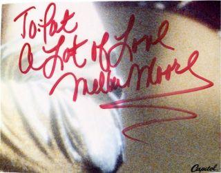 Melba Moore Disco R B Singer Actress Sig 6208