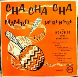Monchito Cha Cha Mambo Merengue LP VG FLP 1202 Vinyl Boogaloo RARE