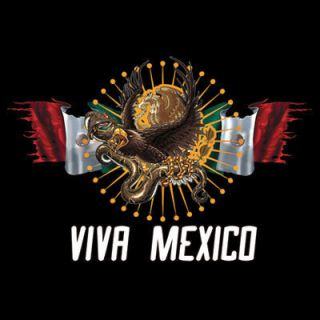 Culture T Shirt Viva Mexico Tee Mexican Flag Eagle Tank Top