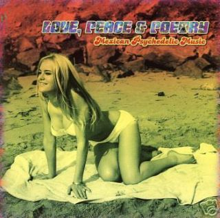 Love Peace Poetry 60 70s Mexican Psychedelic Music New CD