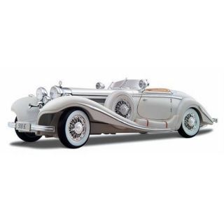 1936 Mercedes Benz 500 Typ Special Roadster 1 18 White