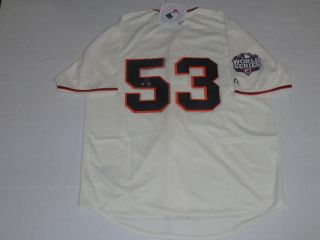Melky Cabrera Signed 53 2012 World Series San Francisco Giants Jersey