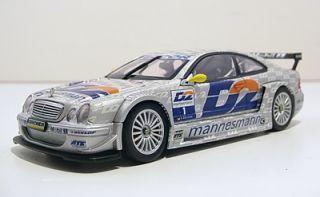 Mercedes Benz CLK DTM 2000 Bernd Scneider 1 Silver