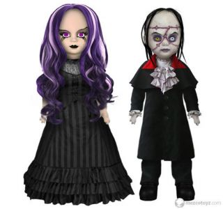 Mezco Living Dead Dolls Scary Tales Beauty The Beast Set of 2