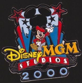 Disney MGM Studios 2000 Director Mickey Mouse Pin OOO