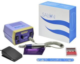 Salon Edge Professional Nail Art Drill Electric File Acrylics Salon