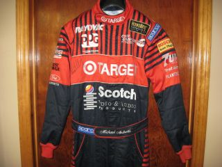 Michael Andretti 1994 Race Used Signed Target Ganassi Drivers Suit