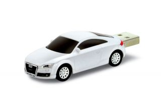 Audi TT Car White USB Memory Stick Flash Pen Drive 2GB