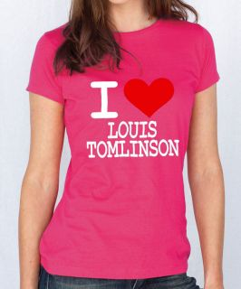 Love Louis Tomlinson T Shirt One Direction Tshirt x Factor T Shirt