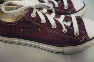 Maroon 5 Adam Levine Chuck Taylor All Star Converse Shoes
