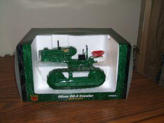 Agco White Oliver Farm Toy Tractor OC 3 Crawler Ertl