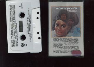 Michael Jackson 14 Original Greatest Hits with The Jackson 5 USA