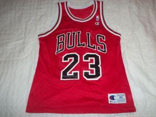 Vintage Champion Michael Jordan Chicago Bulls Jersey